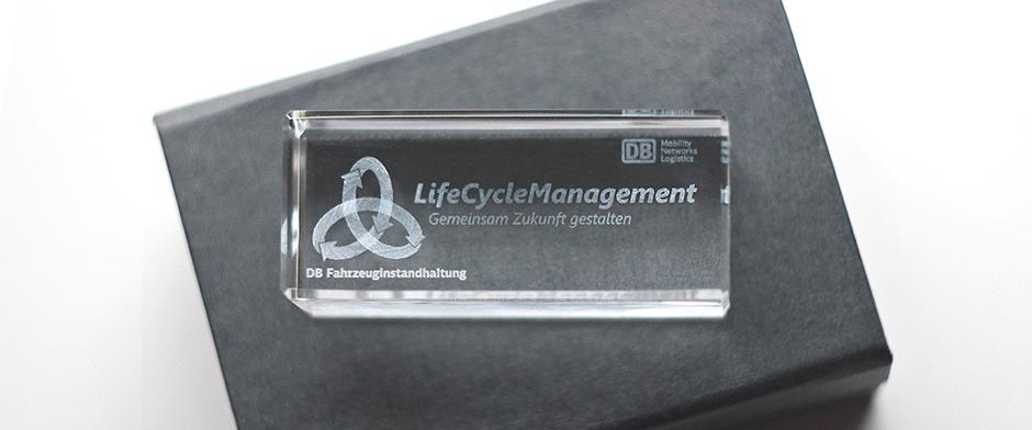 Give-Away DB Fahrzeuginstandhaltung